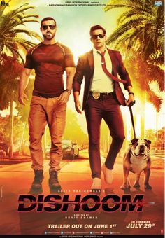 Download Latest Movie Dishoom 2016 Songs. Dishoom Is Directed By Rohit Dhawan, Music Director Of Dishoom Is And Movie Release Date Is April 15, 2016. Download Dishoom Mp3 Songs Which Contains 0 At SongsPK.