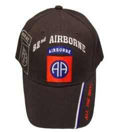 U.S. Military Online Store - Army 82nd Airborne Division 3D Text Hat