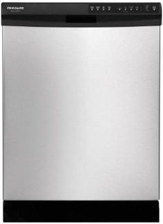 "DGBD2438PF in Stainless Steel by Frigidaire in Bridgewater, NJ - Frigidaire Gallery 24"" Built-In Dishwasher"
