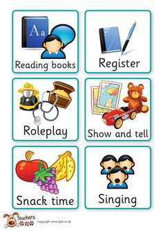 Teacher's Pet - Early years visual timetable - FREE Classroom Display Resource - EYFS, KS1, KS2, visual, timetable, daily, routine, lessons