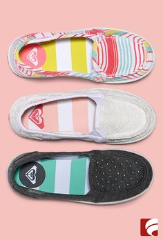 Mini fashionistas will be ready to play in super comfy and casual Roxy slip-ons. Shop these styles and more.