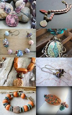 Humblebeads All Stars treasury --Pinned with TreasuryPin.com ~~~ I LOVE the second one down on the left!!! TR ~~~