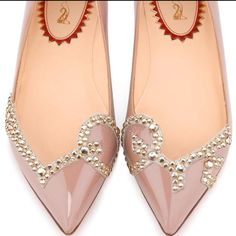 christian louboutin flats...how appropriate