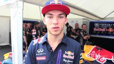 Pierre Gasly @ Goodwood Festival of Speed 2015