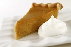 Pumpkin Tart With Julia Child's Pate Brisee Sucree Crust