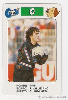 Toni Rayo Vallecano Temporada 1992 - 1993