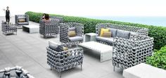 Furniture Collection with Knitting and Weaving Details | Design Pinn