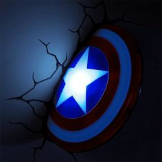 3D Deco Superhero Wall Lights
