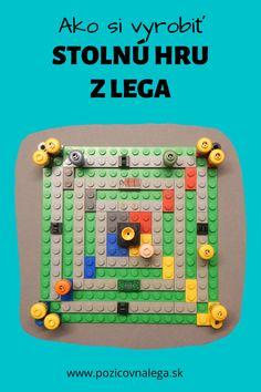 Lego hry: Ako si vyrobiť spoločenskú hru z Lega Lego Games, Nintendo Consoles, Lego Sets