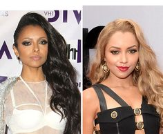 Kat Graham's Dramatic Blonde Hair Makeover At BET Awards