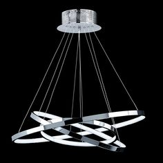 19169-001 CHROME LED pendant