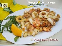 Faux fried fish baked - Finto fritto di pesce al forno Fish Pasta, Seafood Pasta, Fish And Seafood, Quick Recipes, Fish Recipes, Seafood Recipes, Italian Dishes, Italian Recipes, Italian Pasta