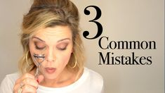 3 Common Hooded Eye Makeup Mistakes-great series of videos!