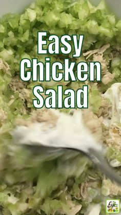 Use this easy chicken salad recipe to make a healthy chicken sandwich for lunch. Made with Greek yogurt and rotisserie chicken. One Pot Dishes, One Pot Meals, Chicken Salad Recipes, Healthy Chicken, Sandwiches For Lunch, Hot Pot, Chicken Sandwich, Rotisserie Chicken, Kitchen Recipes