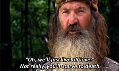 In the early 1990's Phil Robertson was asked to give a duck-calling seminar at the Superdome in New Orleans. He's invited to make sermons all the time! He brings his duck calls and his bible.