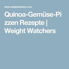 Quinoa-Gemüse-Pizzen Rezepte | Weight Watchers