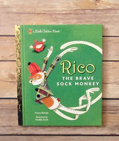 Book of the Week: Rico the Brave Sock Monkey