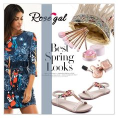 """""""Rosegal"""" by mujkic-merima ❤ liked on Polyvore featuring H&M, Spring, rosegal and nicedress"""
