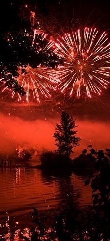 Red - Fireworks!!! Love the all red!!! Bebe'!!!