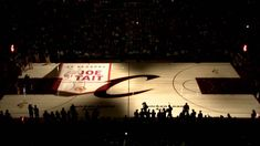 Cleveland Cavaliers PreGame 3D Court Projection -  I was actually in attendance for this!   March 8th 2014