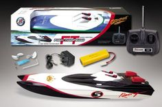 29″ Fish Torpedo Offshore Dual Motors Radio Controlled RC Racing Boat —NEW!!  It has Dual 380 size electric motors. It is completely ready to run and comes with everything. It's time to have some fun in water, at a very affordable price.