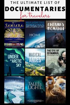 Whenever traveling is not possible what can we do to fuel our Wanderlust? - Check this list of travel documentaries that will expose to you the unseen beauty of the world around us! Travel Movies, Travel Books, What To Watch Movies, Travel Themes, Travel Destinations, Travel Advice, Travel Ideas, Travel Tips, Best Movies On Amazon