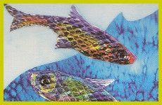 Easy Crafts for Kids - Project 4 - Make Shiny Fish