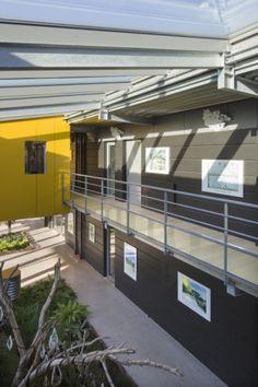Siège social du groupe Lhotellier, Blangy sur Bresle (France) by EN ACT ARCHITECTURE  #architecture #france #zinc #anthra-zinc #quartz-zinc #interior