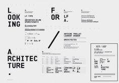 Looking For Architecture  Design graphique — identité visuelle