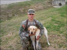 Cpl. Kory Wiens was so fond of Cooper, the military dog he worked with, that he planned to stay in the Army long enough to adopt him when the Labrador retriever's bomb-sniffing career was over. Even though their time was cut short when Wiens and Cooper were killed by an improvised bomb while patrolling in Iraq in 2007, they remain together in death and in memory: their ashes were buried together in Wiens' hometown of Dallas, Ore. And on Friday, an infantry post in Colorado dedicated a dog…