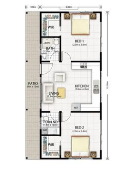 converting a double garage into a granny flat google search tiny house plans pinterest. Black Bedroom Furniture Sets. Home Design Ideas