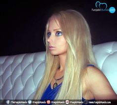 Valeria Lukyanova: A Real-Life Barbie Doll ~ fuNJABi MuNDA