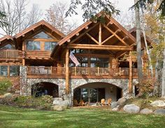 True North - Custom handcrafted log homes by Maple Island Log Homes
