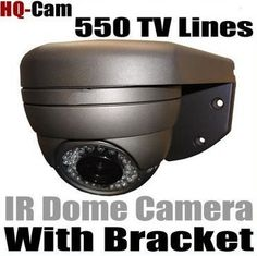 "HQ-Cam® Security Surveillance Camera - 550TV Color Lines High Resolution 1/3"" Sony Super HAD II CCD Built-in 2.8-12mm Manual Iris Vari-Focal Lens 12V DC, 500mA Day Night CCTV Home Video Security Camera Outdoor/indoor by Q1C1. $87.99. Product Type: Color Infrared Camera Image Sensor: 1/3'' Sony Super HAD CCD Effective Pixels: 510 (H) x 492 (V) Horizontal Resolution:550 TV Lines Minimum Illumination: 0 Lux Lens: Built-in 2.8-12mm Manual Iris Vari-Focal Lens Infrared LED:..."