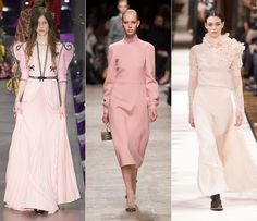 Rose tendance automne-hiver 2017-2018