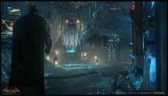 ArtStation - Batman: Arkham knight Environment+Lighting stuff, Florian Desaunay