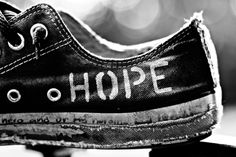 Converse All Star / Black and white photography Words