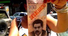 ¡VALE MENOS QUE UN BILLETE DE MONOPOLIO! El bolívar con un respaldo mínimo en reservas internacionales