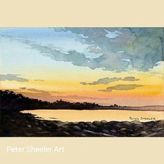 www.ebay.ca/usr/sheelerart #art #artist #original #watercolor #watercolour…