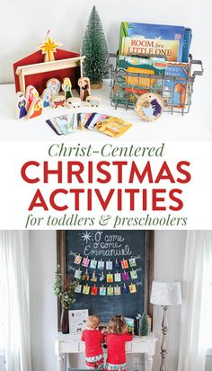 christian Christmas Crafts Looking for intentional Christ-Centered Christmas Activities for Toddlers and Preschoolers Celebrate the birth of Christ with the best Christmas products, crafts, activities, and books that focus on the greatest giftJesus! Christmas Traditions Kids, Christmas Activities For Toddlers, Toddler Christmas Gifts, Toddler Gifts, Winter Activities, Diy Christmas Decorations For Home, Christmas Crafts For Kids, Christmas Fun, Outdoor Christmas