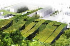 I think that there are many buildings with the intention of being sustainable, ones that are more integrated into the surrounding environment, that can be considered genius loci designs.