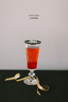 Apple Ginger Cocktail: http://www.stylemepretty.com/living/2014/10/11/15-cocktails-to-try-this-weekend/