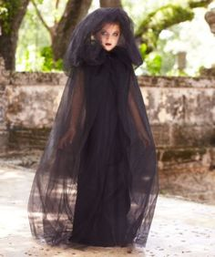 shadow cape girls costume dementor costume