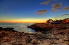 West Oahu Sunset at magic hour.