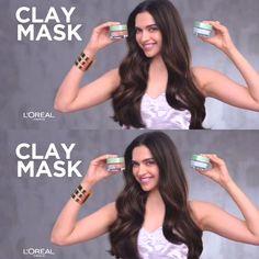 Deepika Padukone for L'Oreal Paris Extraordinary Clay TVC Ad 2018