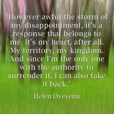 7. You Hold the Key to Your Heart - 7 Inspirational Quotes for the Broken Hearted ... → Love