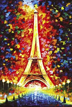 Leonid Afremov Eiffel Tower print for sale. Shop for Leonid Afremov Eiffel Tower painting and frame at discount price, ships in 24 hours. Cheap price prints end soon. Paris Painting, Oil Painting On Canvas, Canvas Art, Knife Painting, Painting Art, Canvas Size, Watercolor Painting, Wall Canvas, Wall Art