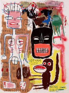 """Résultat de recherche d'images pour """"jean michel basquiat mona lisa"""""""