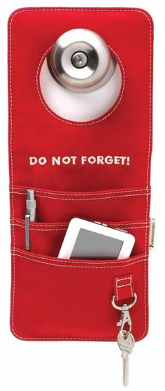 Doororganizer - red i gruppen Smart Design  hos HouseofHedda.com (ommDoorOrganizRed)
