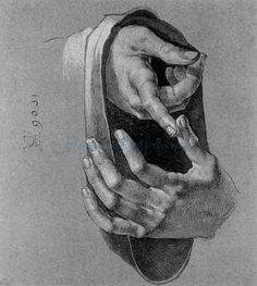 Study Of Hands 1506 oil painting by Famous Artist - Albrecht Durer
